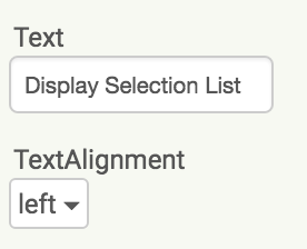 DesignerViewTextAlignment